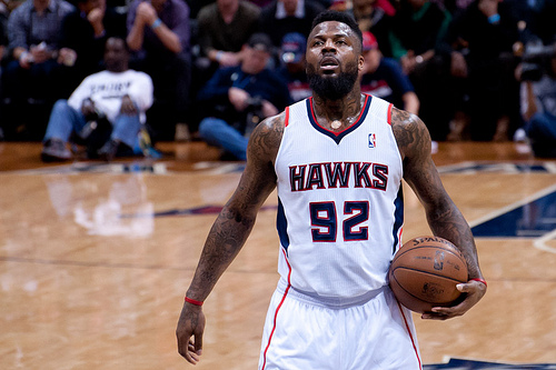 Atlanta Hawks Deshawn Stevenson
