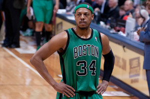 Boston Celtics Paul Pierce