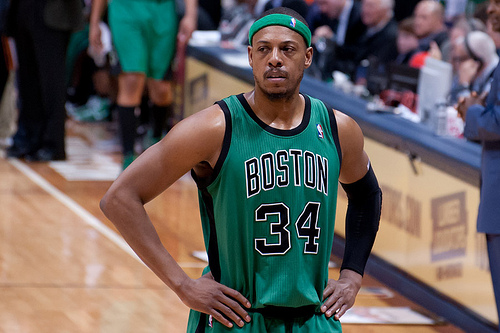 Boston Celtics Paul Pierce