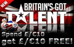 Britain's Got Talent Bingo Game