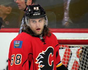 Calgary Flames Ben Hanowski