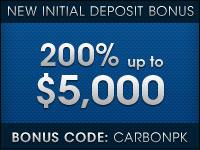 Carbon Poker Deposit Bonus
