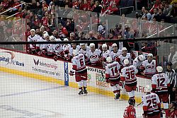 Carolina Hurricanes Bench