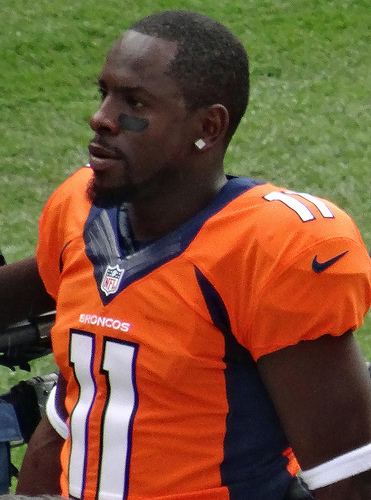 Denver Broncos Trindon Holliday by Jeffrey Beall
