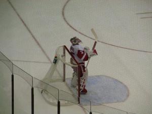 Detroit Red Wings Goldie Jimmy Howard