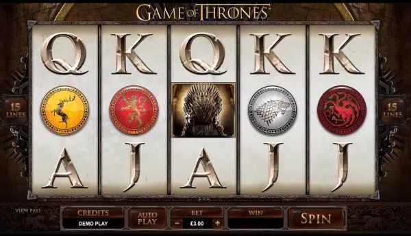 Game of Thrones Slots Screenshot