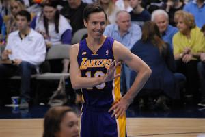 Los Angeles Lakers Steve Nash