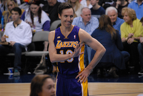Los Angeles Lakers Steve Nash