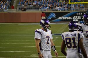 Minnesota Vikings Christian Ponder