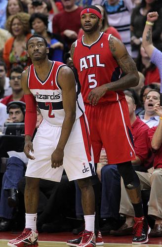 NBA Players John Wall and Josh Smith