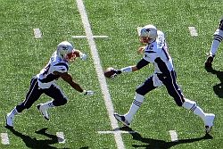 New England Patriots Tom Brady & Shane Vereen