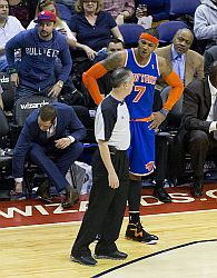 New York Knicks Carmelo Anthony