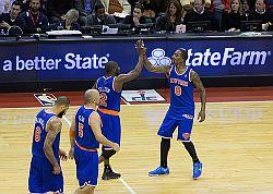 New York Knicks Players 2013