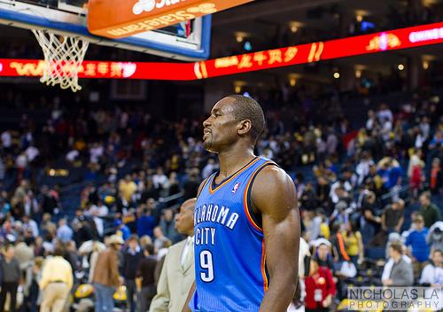 Oklahoma City Thunder Serge Ibaka