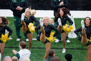 Oregon Ducks Cheerleaders