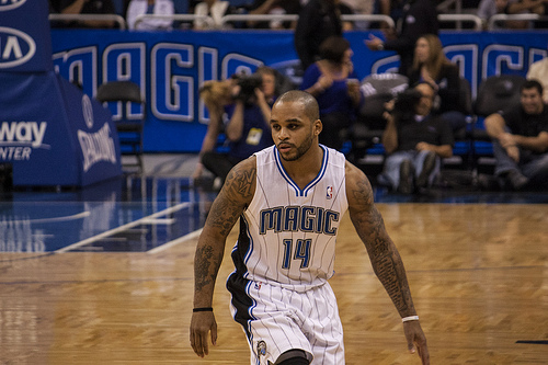 Orlando Magic Jameer Nelson