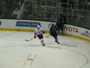 San Jose Sharks vs New York Islanders 2013