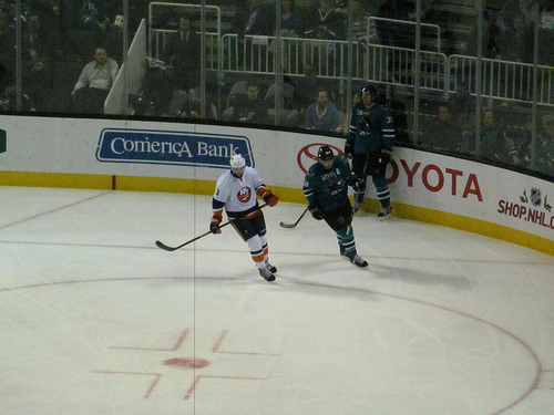 San Jose Sharks vs New York Islanders 2013
