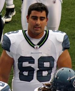 Seattle Seahawks Breno Giacomini