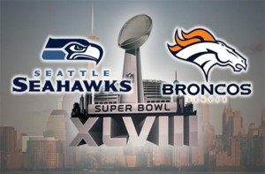 Seattle Seahawks vs Denver Broncos Super Bowl XLVIII