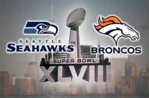 Seattle Seahawks vs Denver Broncos Super Bowl XLVIII