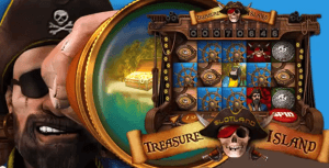 Slotland Treasure Island Slot Machine