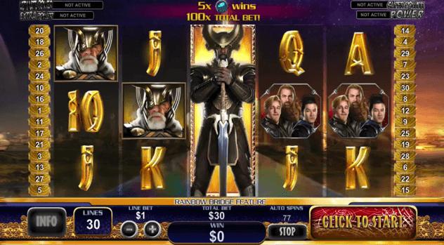 Thor Slots Machine Review
