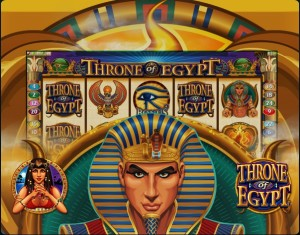 Throne Of Egypt Slot Machine