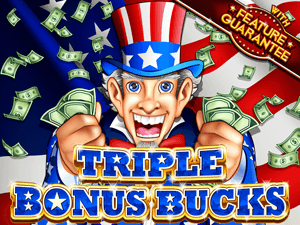 Triple Bonus Bucks Slot Machine