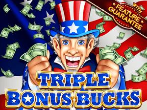 Triple Bonus Bucks Slot Machine